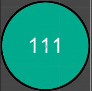111と書かれたメーター