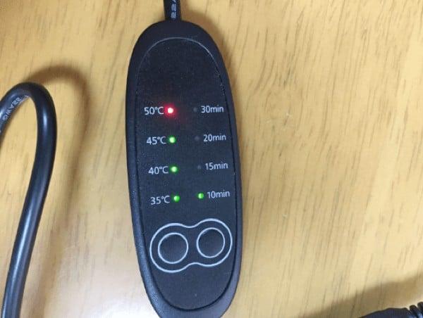 USBホットアイマスク 50℃