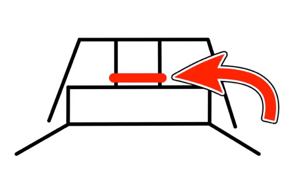 キーキャップと静音化リングの図