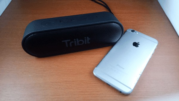 Tribit XSound GoとiPhone