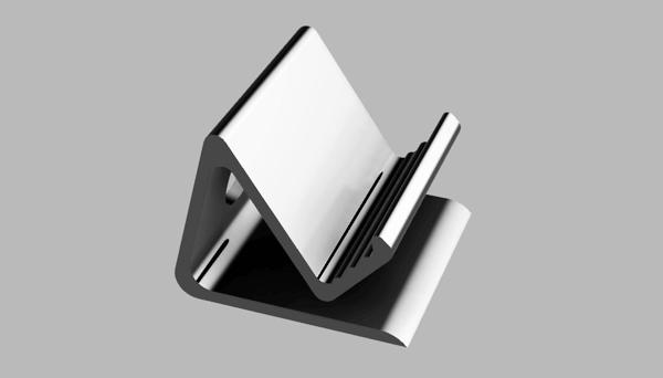 自作タブレットスタンドのモデル