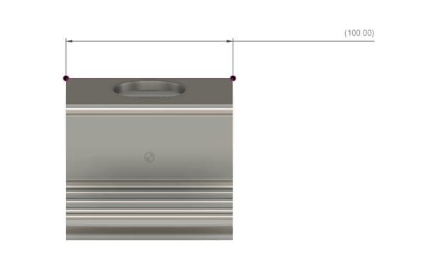 自作タブレットスタンドのサイズ