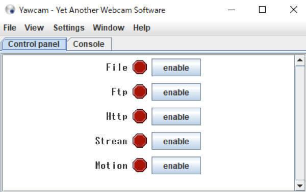 Windows Yawcam