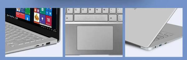 Jumper EZbook S4のタッチパッドや端子