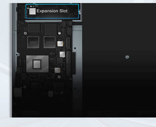 Chuwi HeroBookの拡張スロット