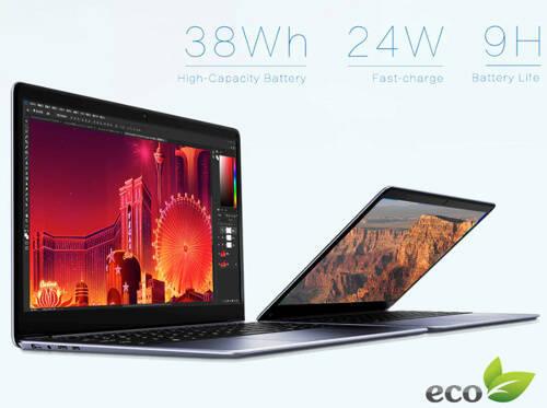 Chuwi HeroBookのバッテリー容量