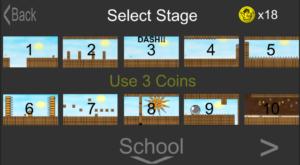 Unity ステージ選択