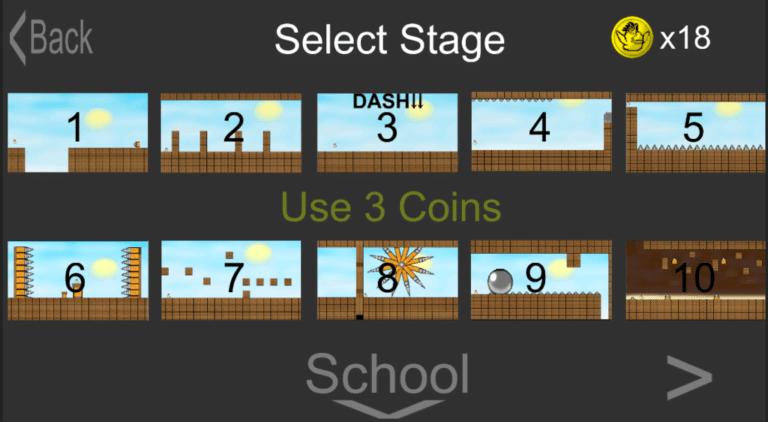 【Unity】 ステージ選択をするスクリプトつくってみた!アクションゲームに使えるかも
