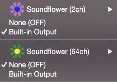 Macから出る音をQuickTimePlayerで録音する方法