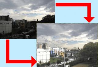 【GIMP】暗い写真を明るく加工・修正してみる|その1