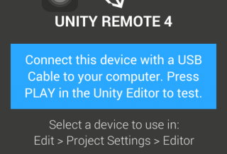 【UNITY REMOTE】実機登録不要!無料で実機テストできるアプリ!