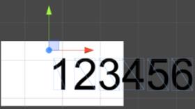 【Unity】テキストの中心点を変更する方法|桁が変わるとテキストがずれる