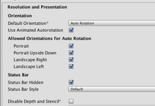 Unityアプリの縦・横を設定する方法