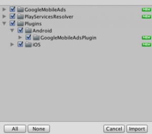 【Unity】AdMobがAndroidに表示されない時に確認する事