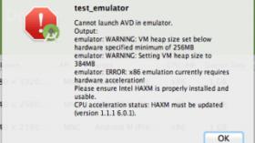 【Androidエミュレータが起動できない!】 HAXMをインストールする方法