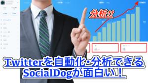 【無料プランあり】Twitterを自動化・解析できるSocialDogの使い方!