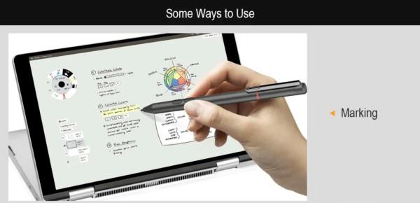 スタイラスペンを使ったOne Netbook One Mix 3