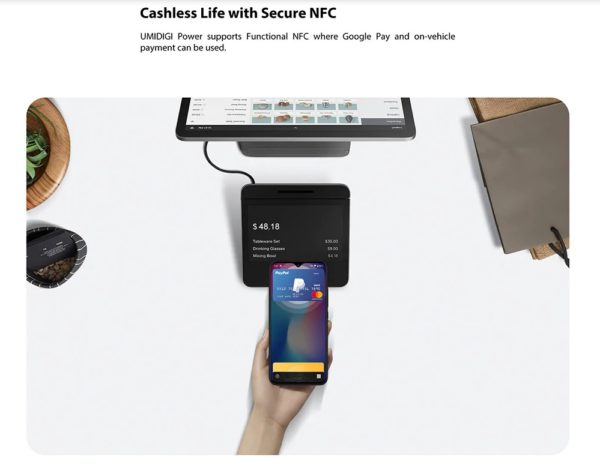 UMIDIGI POWER NFC対応