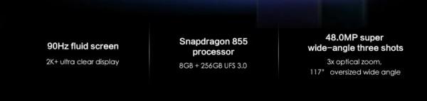 OnePlus 7 Proのスペック