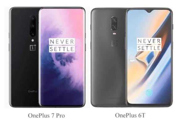 OnePlus 7 ProとOnePlus 6Tの比較