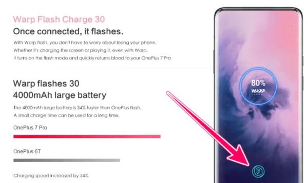 OnePlus 7 Pro バッテリー
