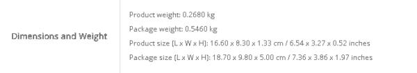 Ulefone Armor 6Eの重量