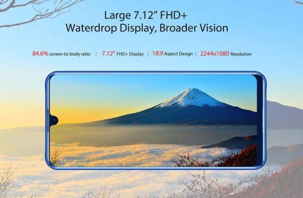 OUKITEL K9の画面サイズ