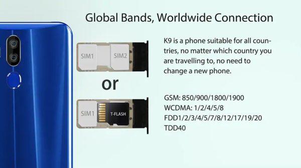 OUKITEL K9 DSDS