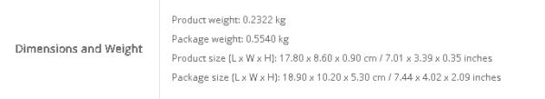 OUKITEL K9の重量