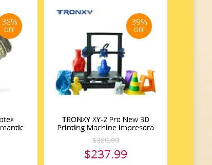 TRONXY XY-2 Pro セール