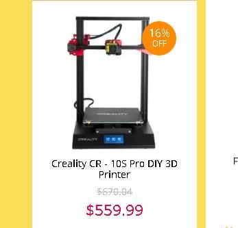Creality CR-10S Pro セール