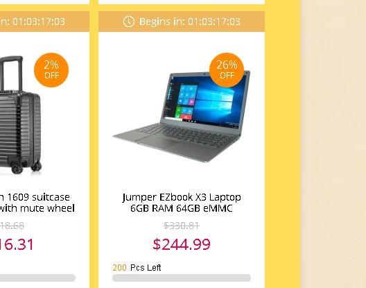Jumper EZbook X3 セール