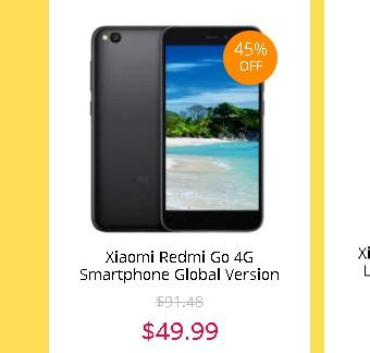 Xiaomi Redmi Go セール