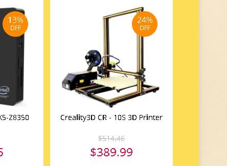 Creality3D CR-10S セール