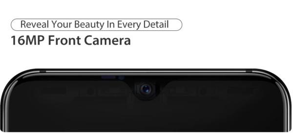 Ulefone Power 6 フロントカメラ