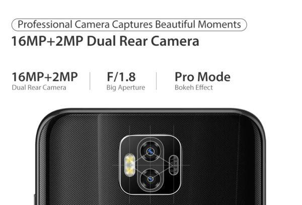 Ulefone Power 6 デュアルカメラ