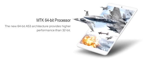 Teclast P80H CPU