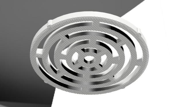 ザラザラした3Dモデル