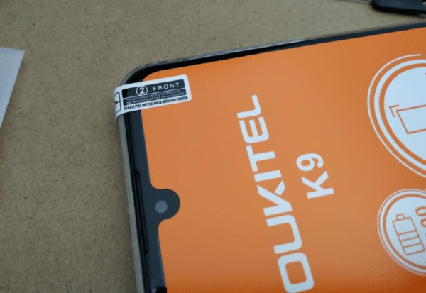 OUKITEL K9 液晶保護フィルム