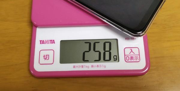OUKITEL K9 重量