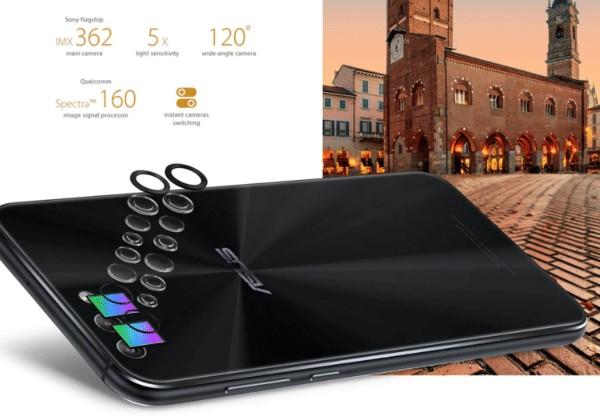 ASUS ZenFone 4 デュアルカメラ