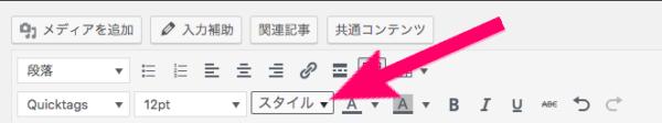 WordPress スタイル