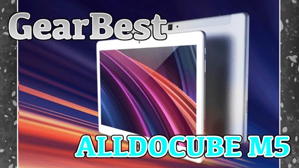 【ALLDOCUBE M5】10コアのCPUや4GBメモリを搭載した10インチタブレット!クーポン情報あり