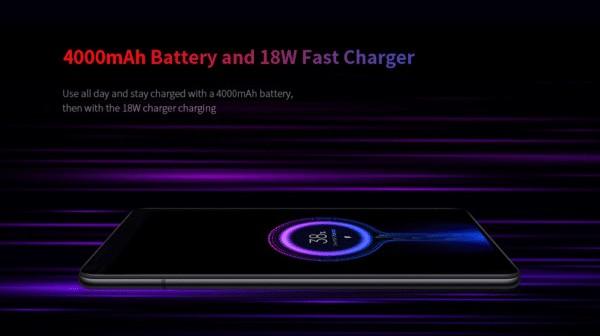 Xiaomi Mi 9T バッテリー容量